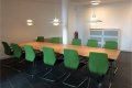 Möblierung eines Konferenzraumes